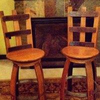 Facrac: Barrel furniture plans