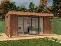 Theodore Garden Office W5.0m x D4.5m | Garden Offices