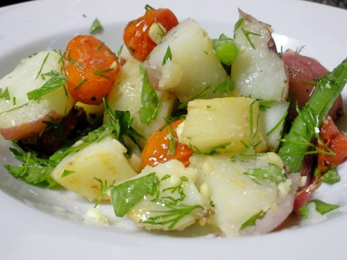 Potato &amp; Green Bean Salad