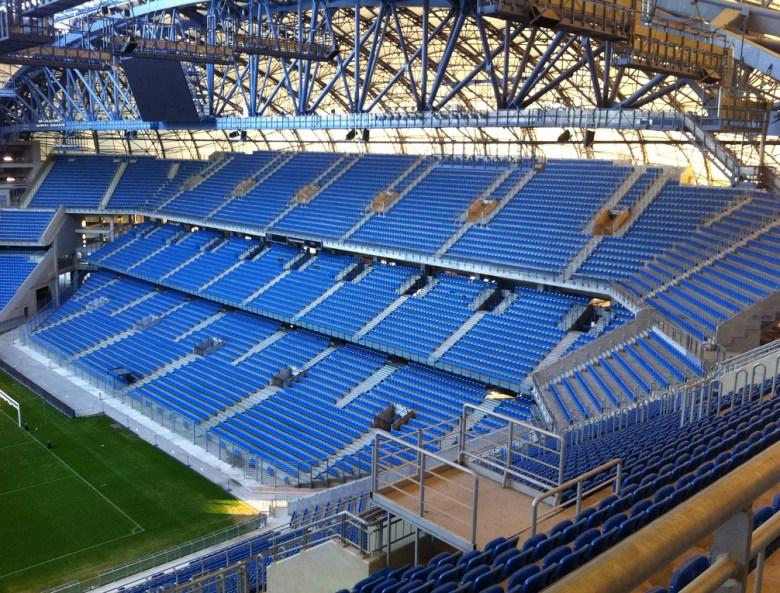 Zwiedzanie stadionu piłkarskiego w Poznaniu INEA Stadion Lech Poznań