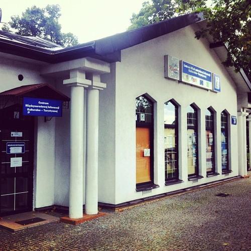 Miejska Informacja Turystyczna w Suwałkach niestety po sezonie zamknięta w sobotę i niedzielę.