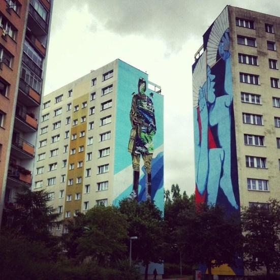 Run, Monumental Art 2011 i Shai Dahan, Monumental Art 2013 Zamelduj się na Zaspie