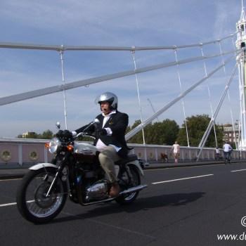 The Distinguished Gentleman's Ride 2014 Londyn