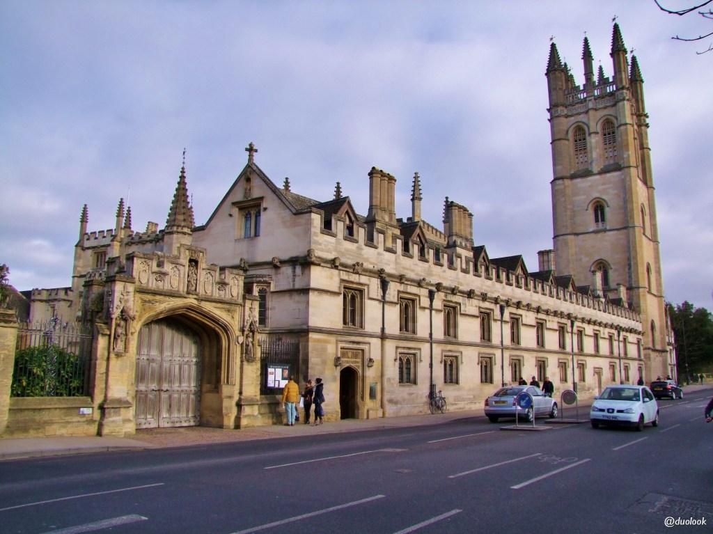 architektura magdalen college oksford atrakcje wielka brytania