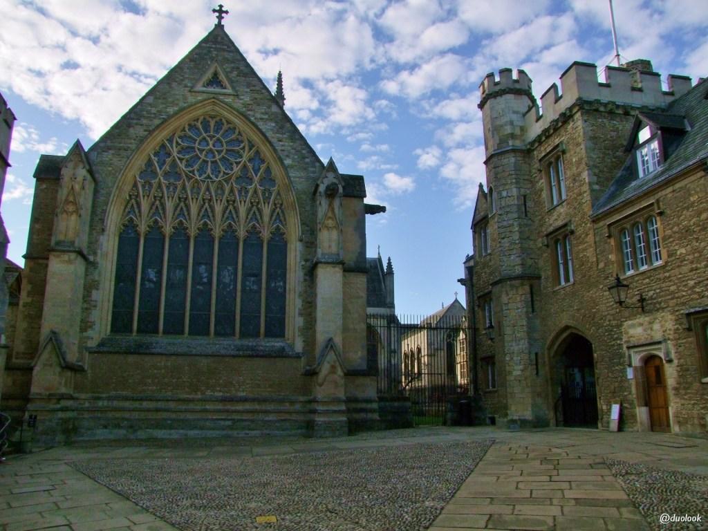 zwiedzanie oksfordu z przewodnikiem merton college