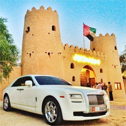 luksus hotel abu dhabi emiraty arabskie rolls royce