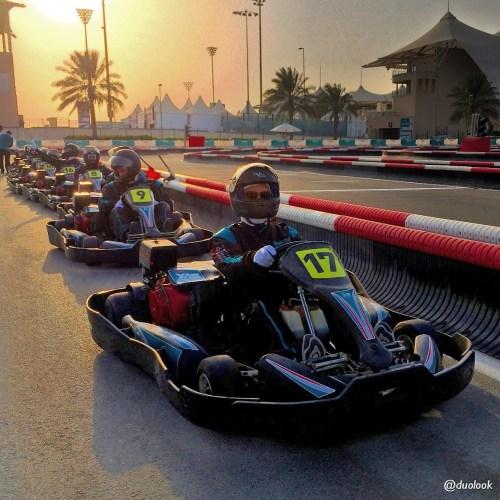 ATRAKCJE W ABU DHABI wyścigi