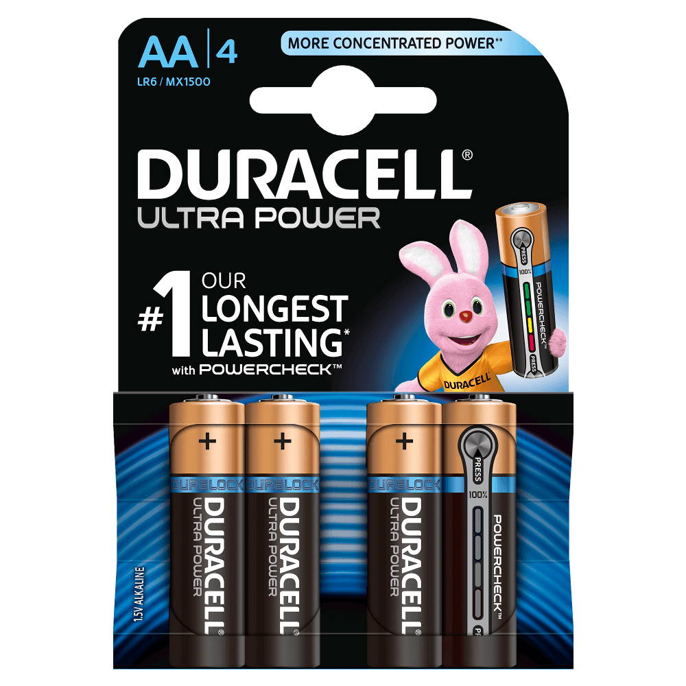 Aa Batterien Duracell Ultra Power Aa Batterien