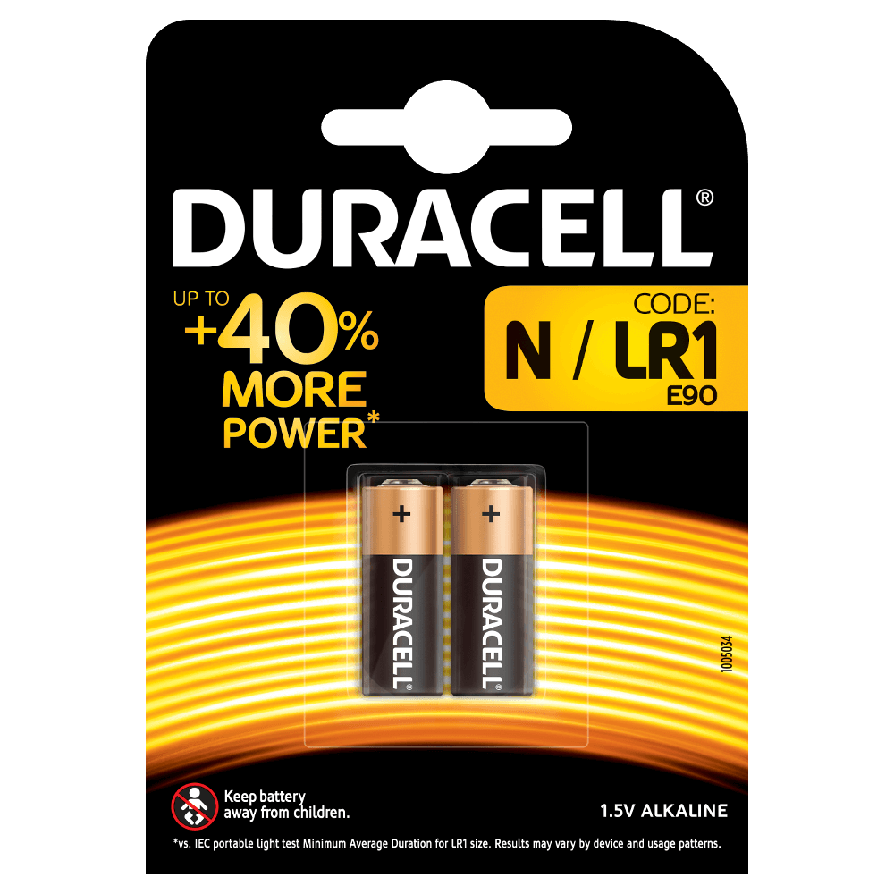 1 5v Batterie Batterie Specialistiche Alcaline N Duracell
