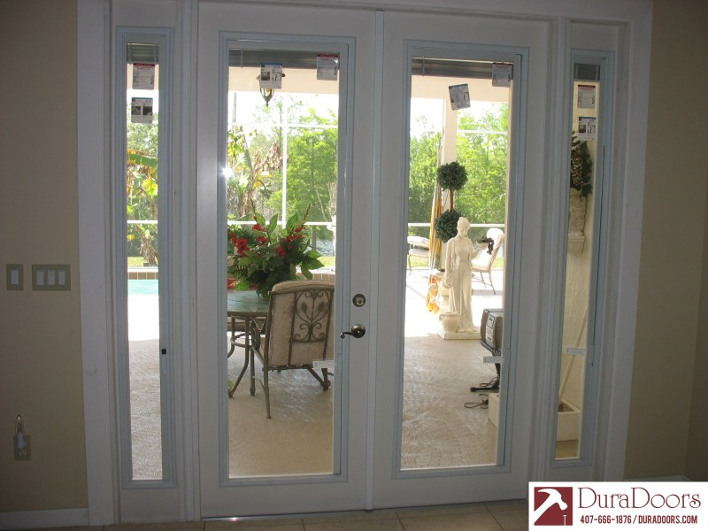 Large Of French Doors With Blinds