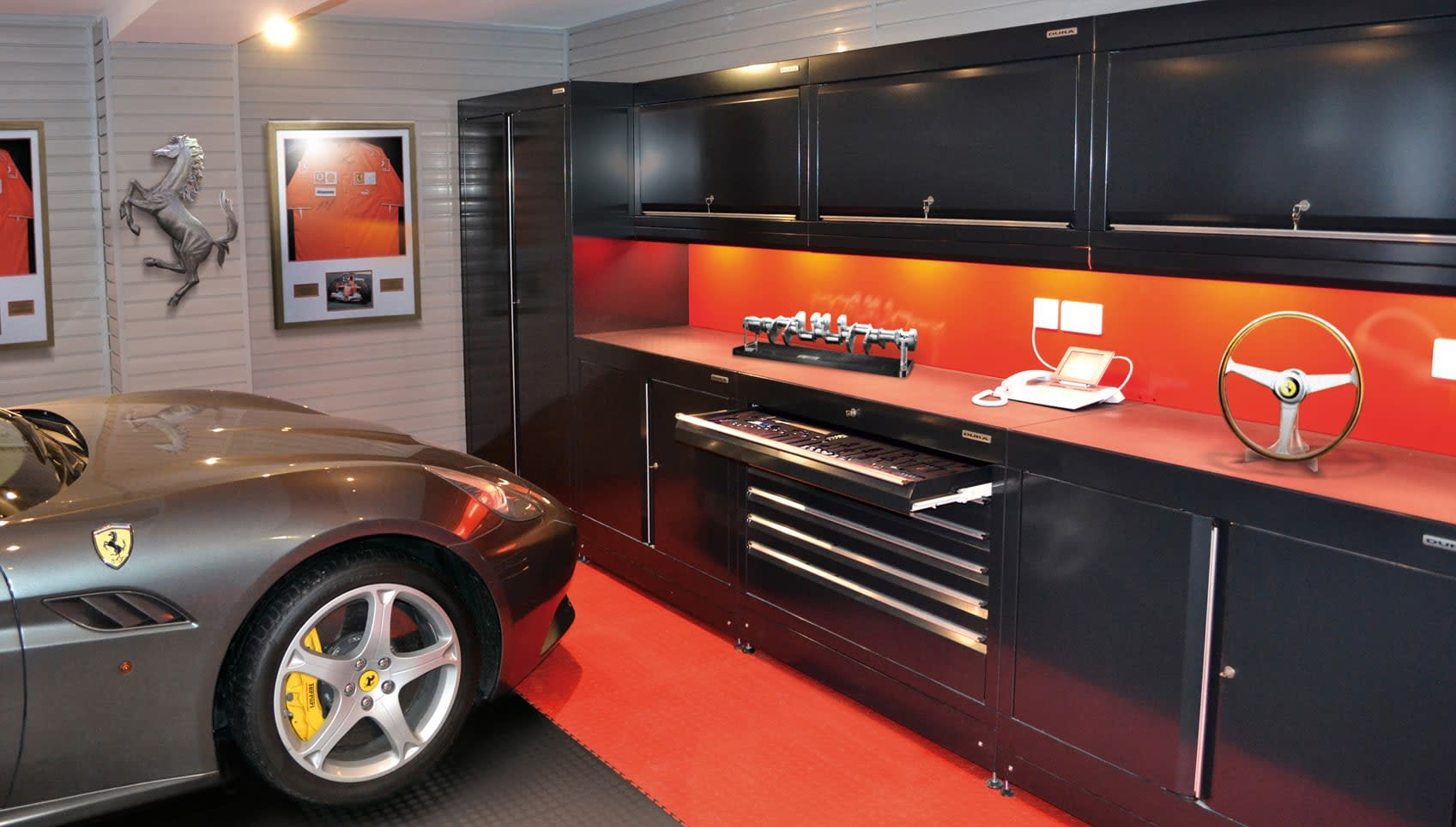 Best Furniture Stores In Gta Home Workshops And Car Themed Garages From Dura Garages