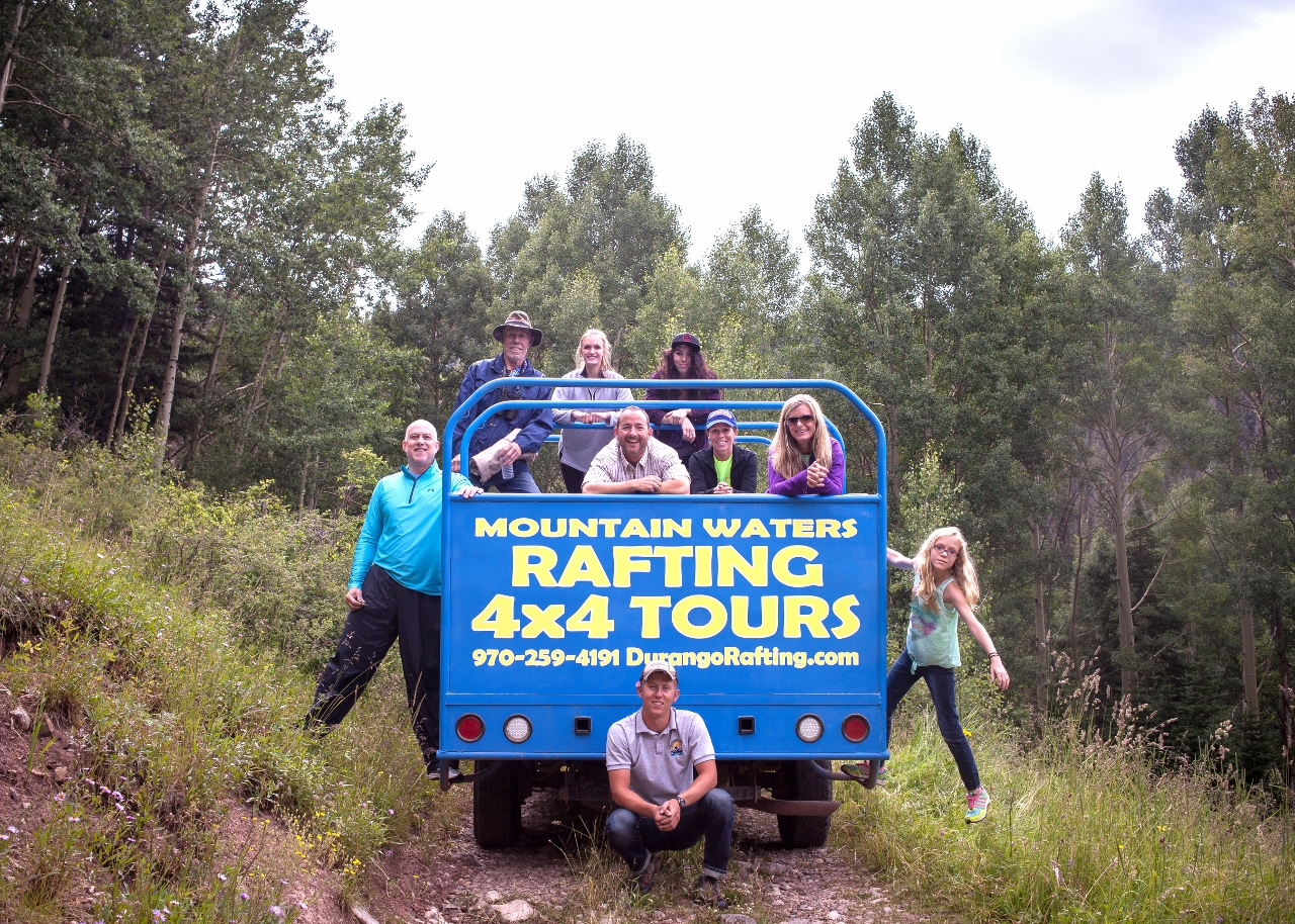Tours Trip 4x4 Jeep Trail Tour Raft Mesa Verde Train 4x4 Tours Zip Line