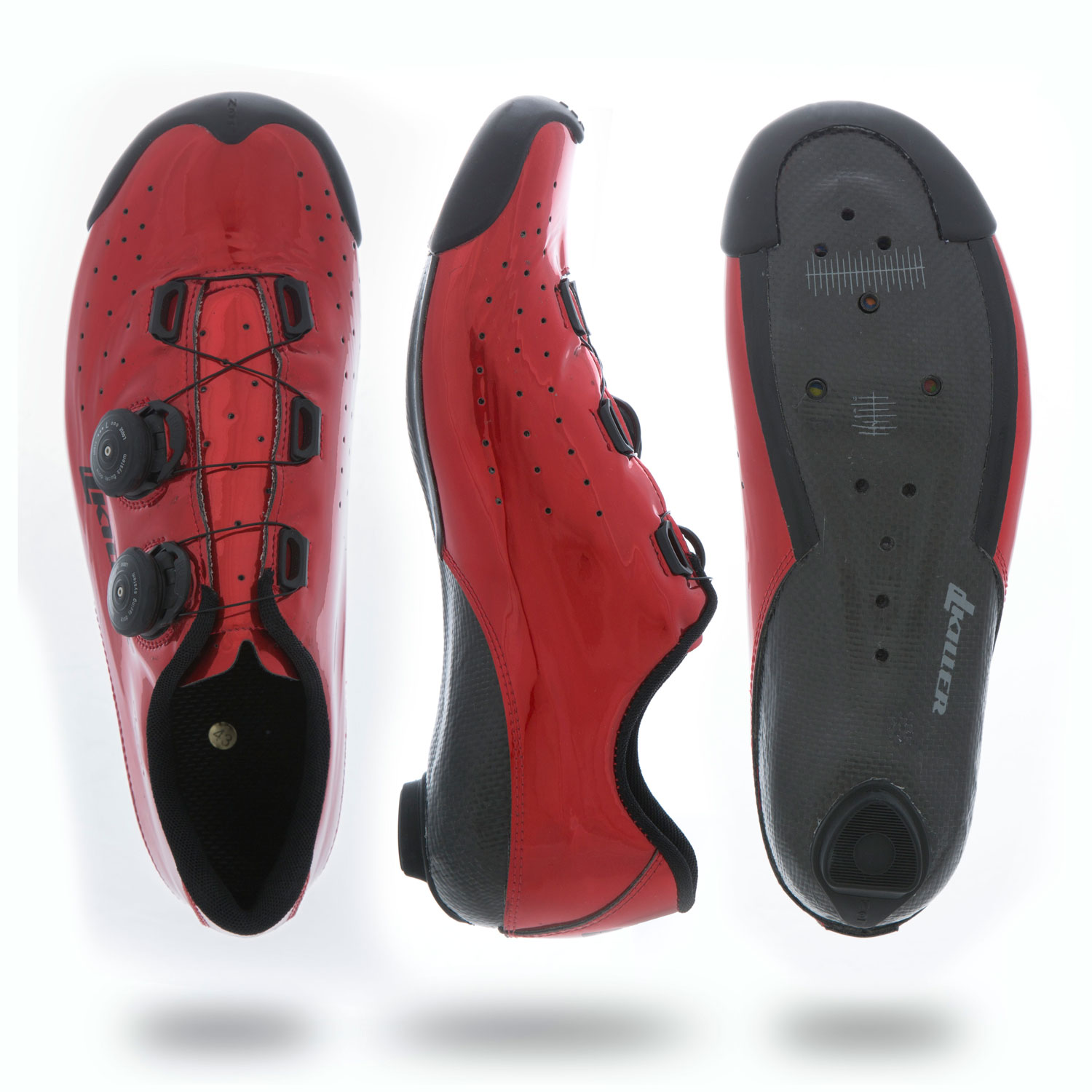 Red 1.com Dl Killer Ks1 Cycling Race Shoe Red Size 39 45 Italy Durasafe Shop