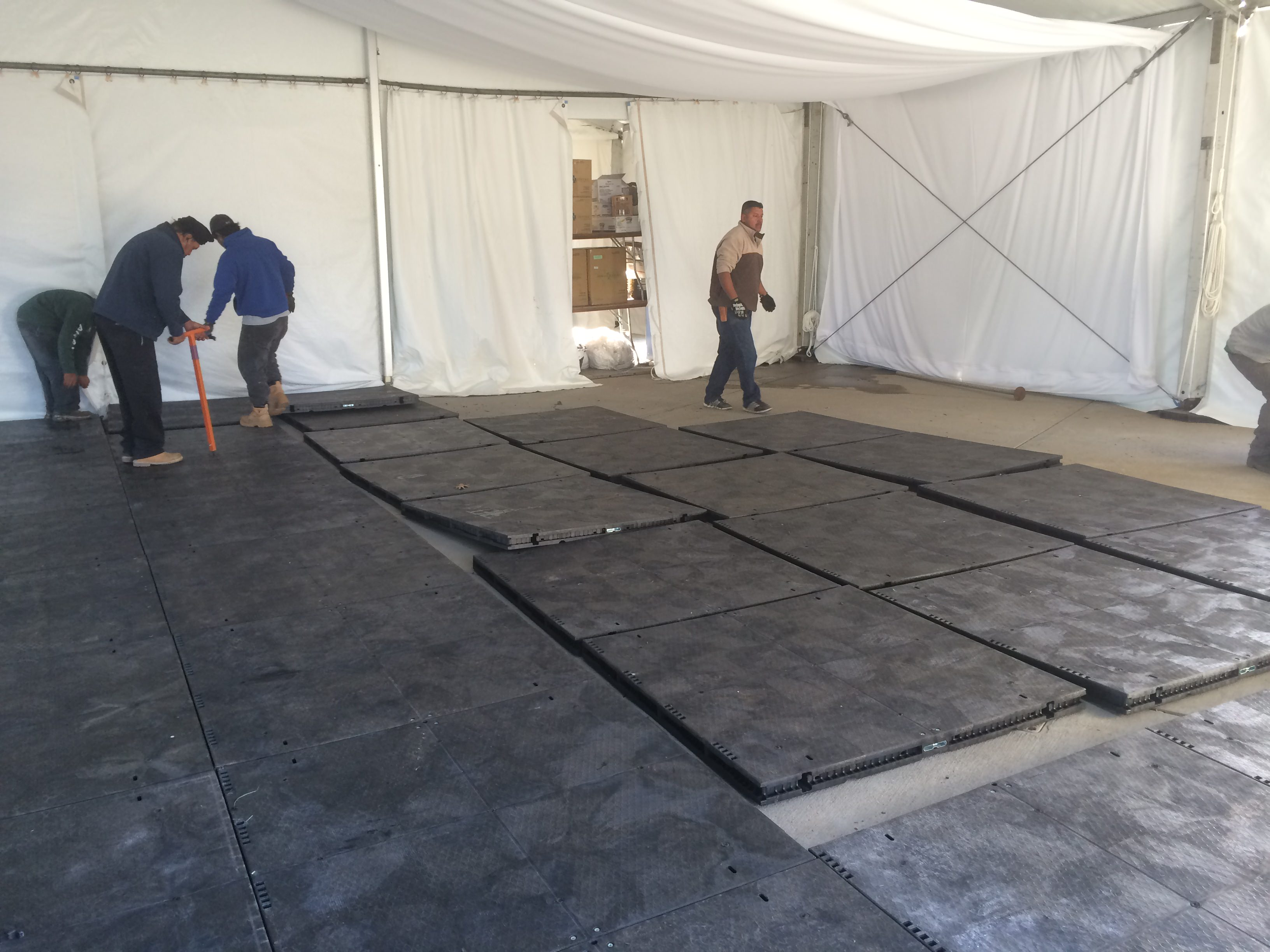 Temporary Flooring Dura Trac Temporary Flooring Applications And Uses