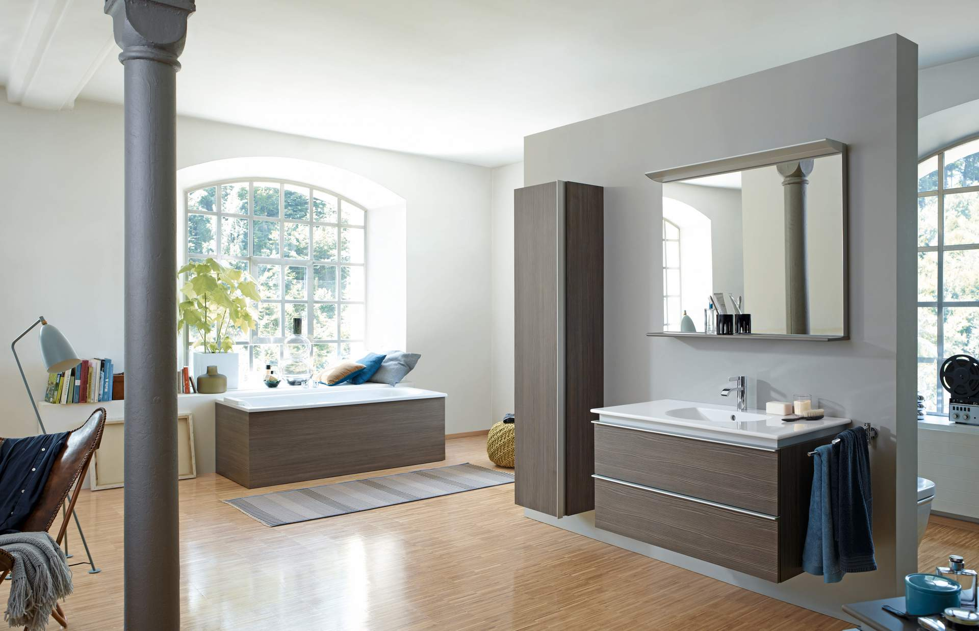 Bad Planen Duravit Darling New Pine Terra Duravit