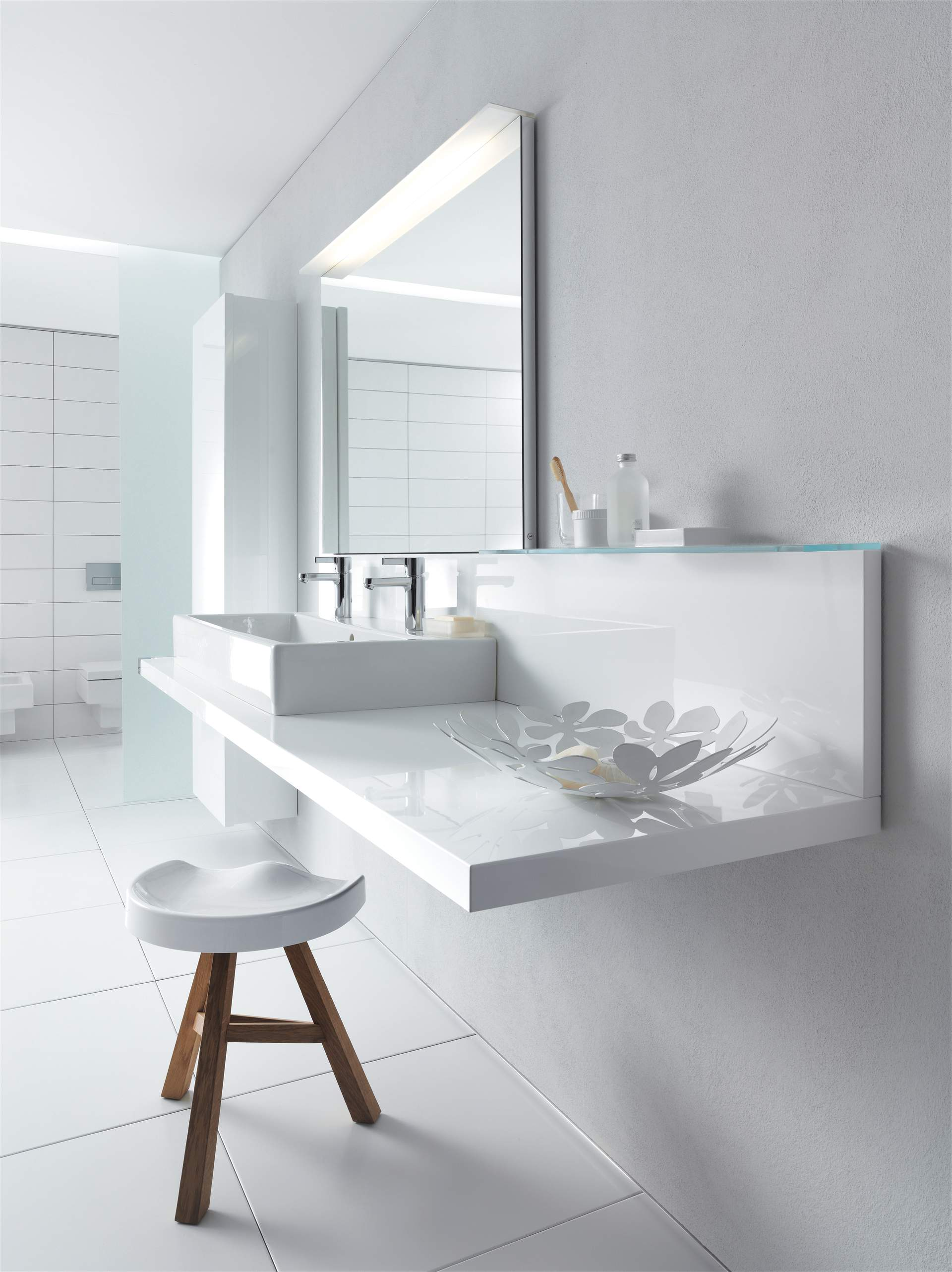 Badezimmer Hochschrank Real Duravit Delos Bathroom Furniture Designed By Eoos Duravit