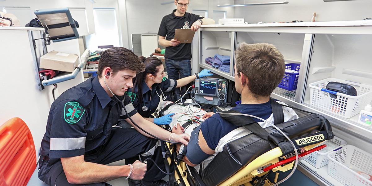 Paramedic Durham College