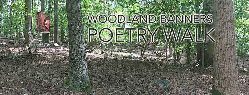 Woodland Banners Poetry Walk