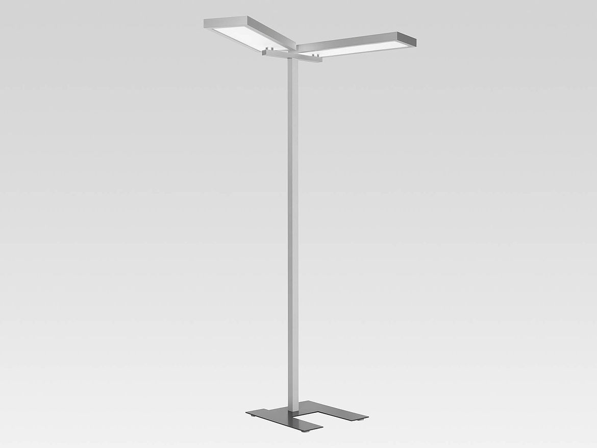 Luminaire Lighting Indilux D Ds Symmetrically Radiating Free Standing Luminaire