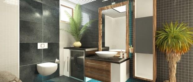 Grünes Badezimmer Verschönern