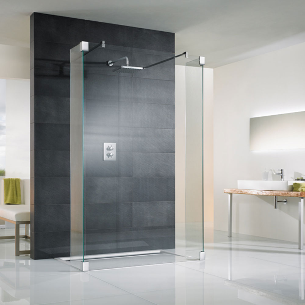 Walk In Dusche Mit Seitenteil Hsk Walk In K2 1 Glaselement 2 Seitenteile
