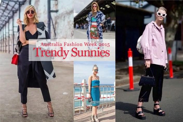 Sunglasses Trends 2015 Australia Fashion Week 2015