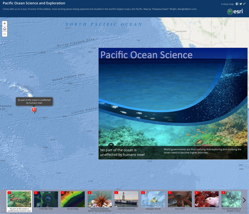 An Ocean of Story Maps