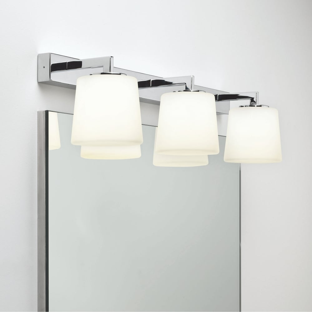 Bathroom Mirror Wall Lights Astro Lights Triplex Ip44 Chrome Bathroom Mirror Wall Light