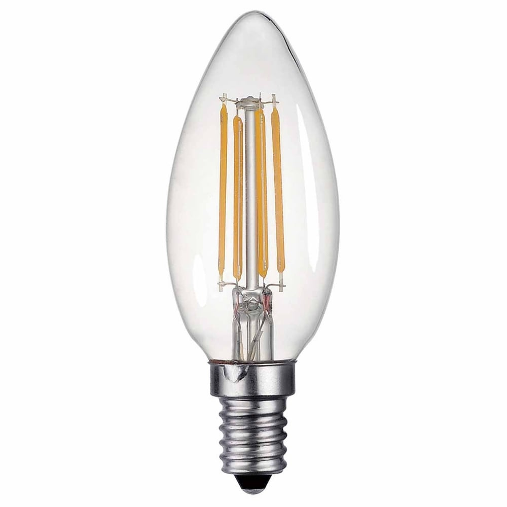 E14 Lamp Dar Lighting E14 4w Led 400 Lumen Dimmable Candle Lamp