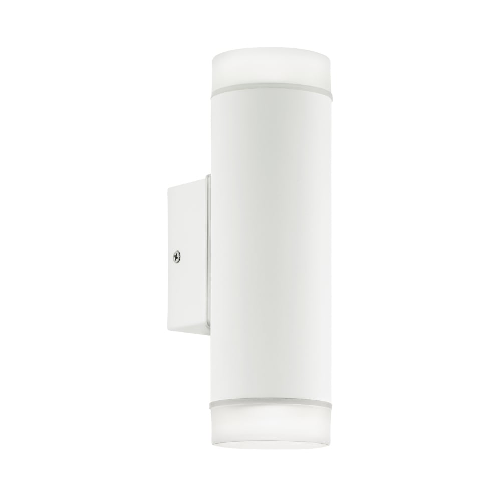 Eglo Riga Led Outdoor Wall Light Riga Led Exterior Up And Down Wall Light In White