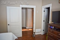 Door  Dust Bunnies and Dog Toys