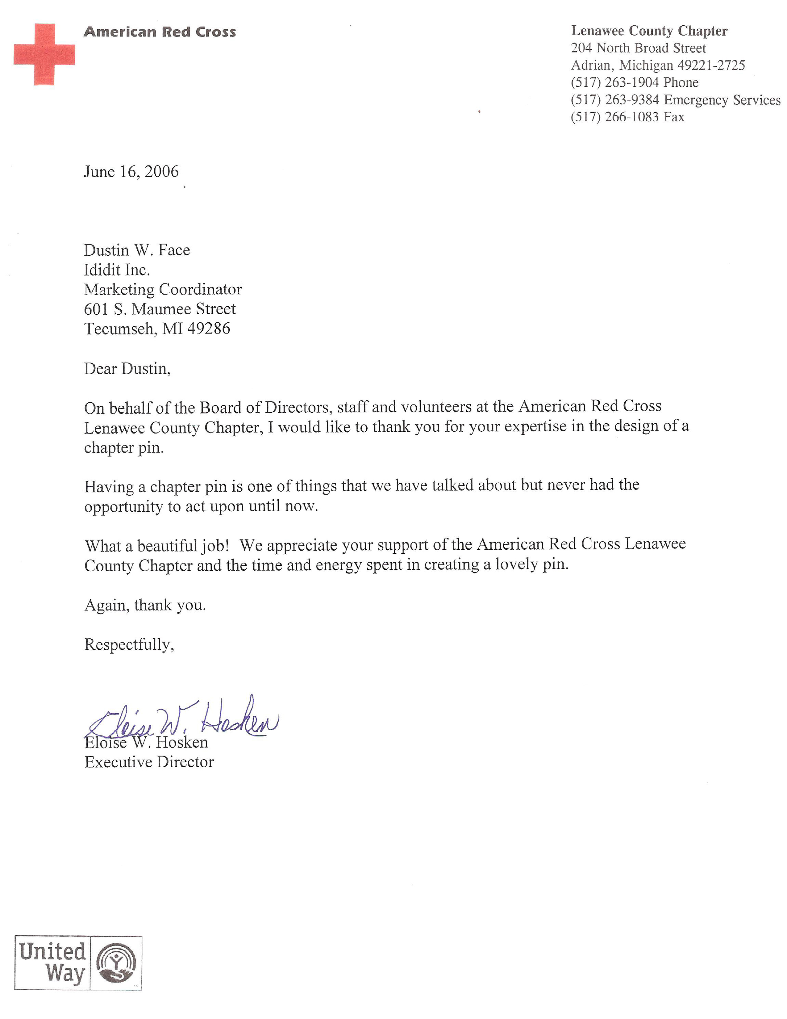 Red Cross Volunteer Cover Letter litigation support specialist ...
