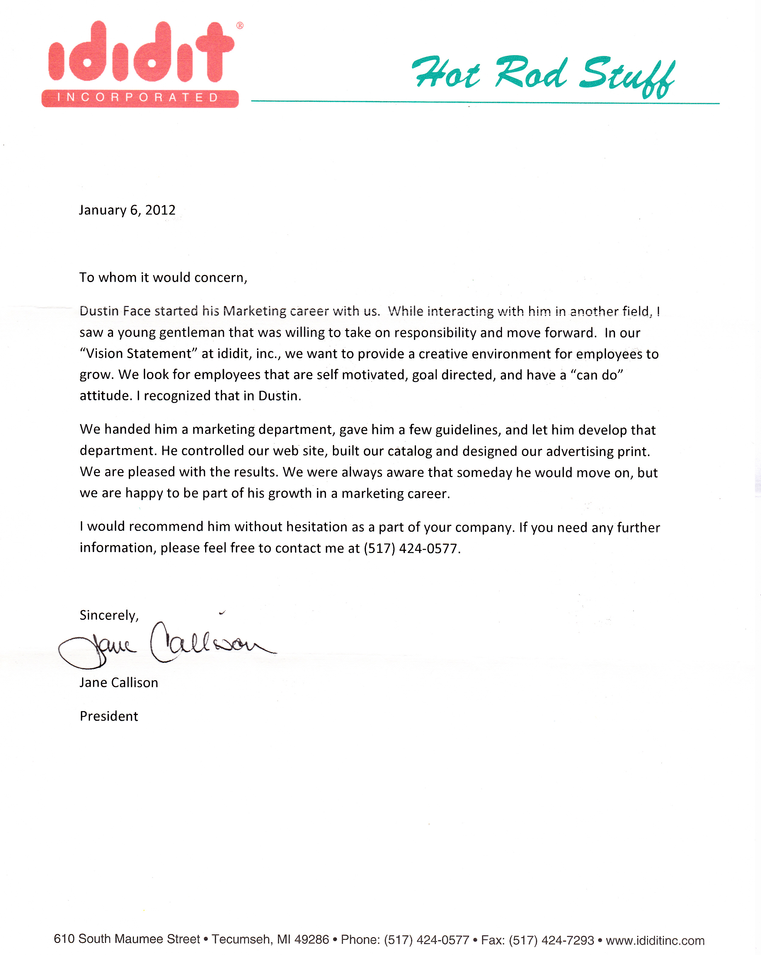 sales and marketing manager reference letter 1000 images