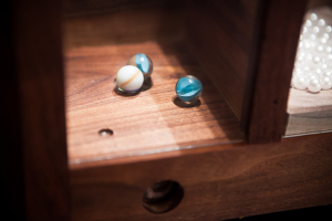 Marbles get stuck!