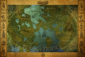 Give your characters a map for where to go in a novel