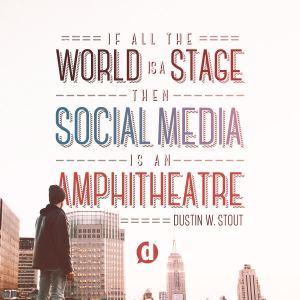 social media is an amphitheatre
