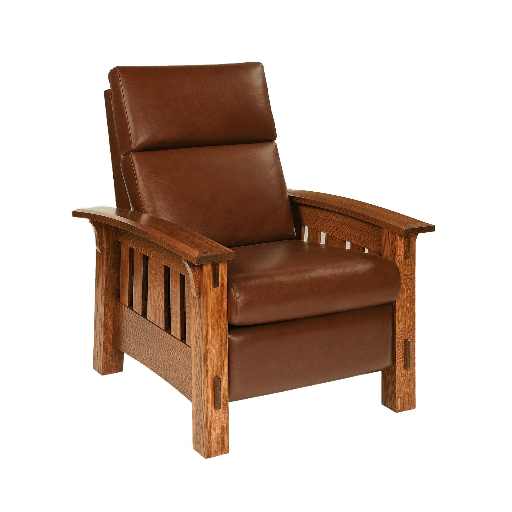 Leather Upholstered Lounge Recliners And Lounge Chairs By Dutchcrafters Amish Furniture