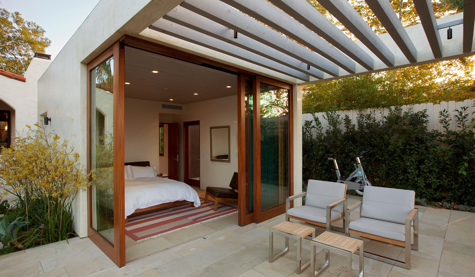 Adobe Home Design Modern Adobe House In California By Dutton Architects