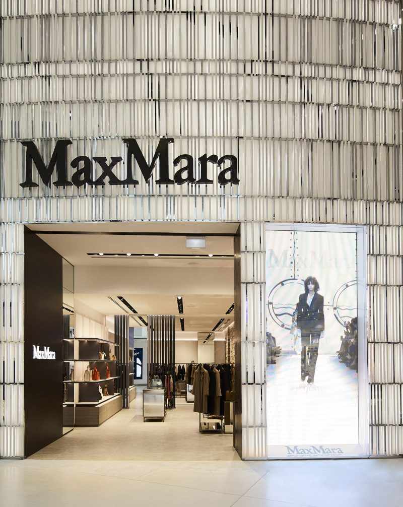 Sydney Airport Shops Max Mara Adds Extra Style To Sydney Airport S Luxury Shopping
