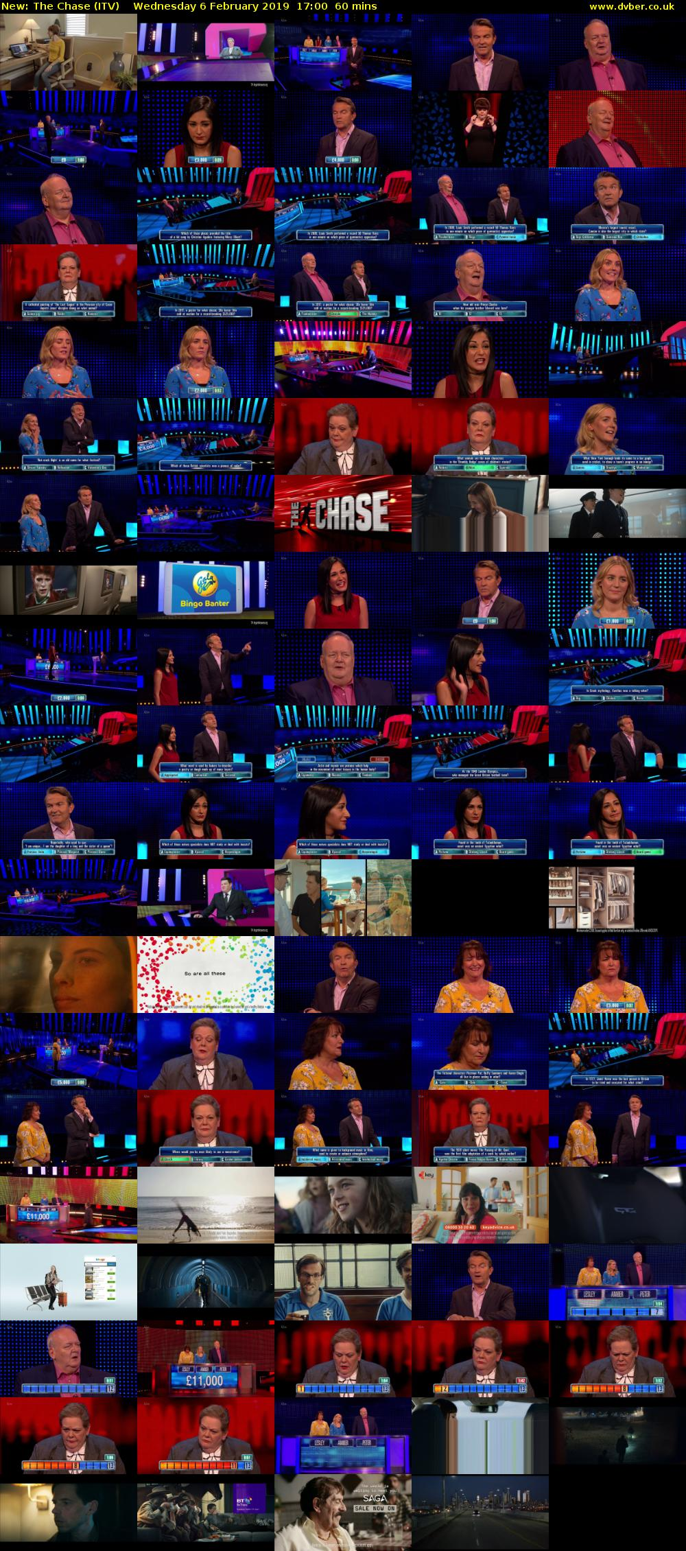 Wednesday 6 February 2019 The Chase Itv Hd 2019 02 06 1700