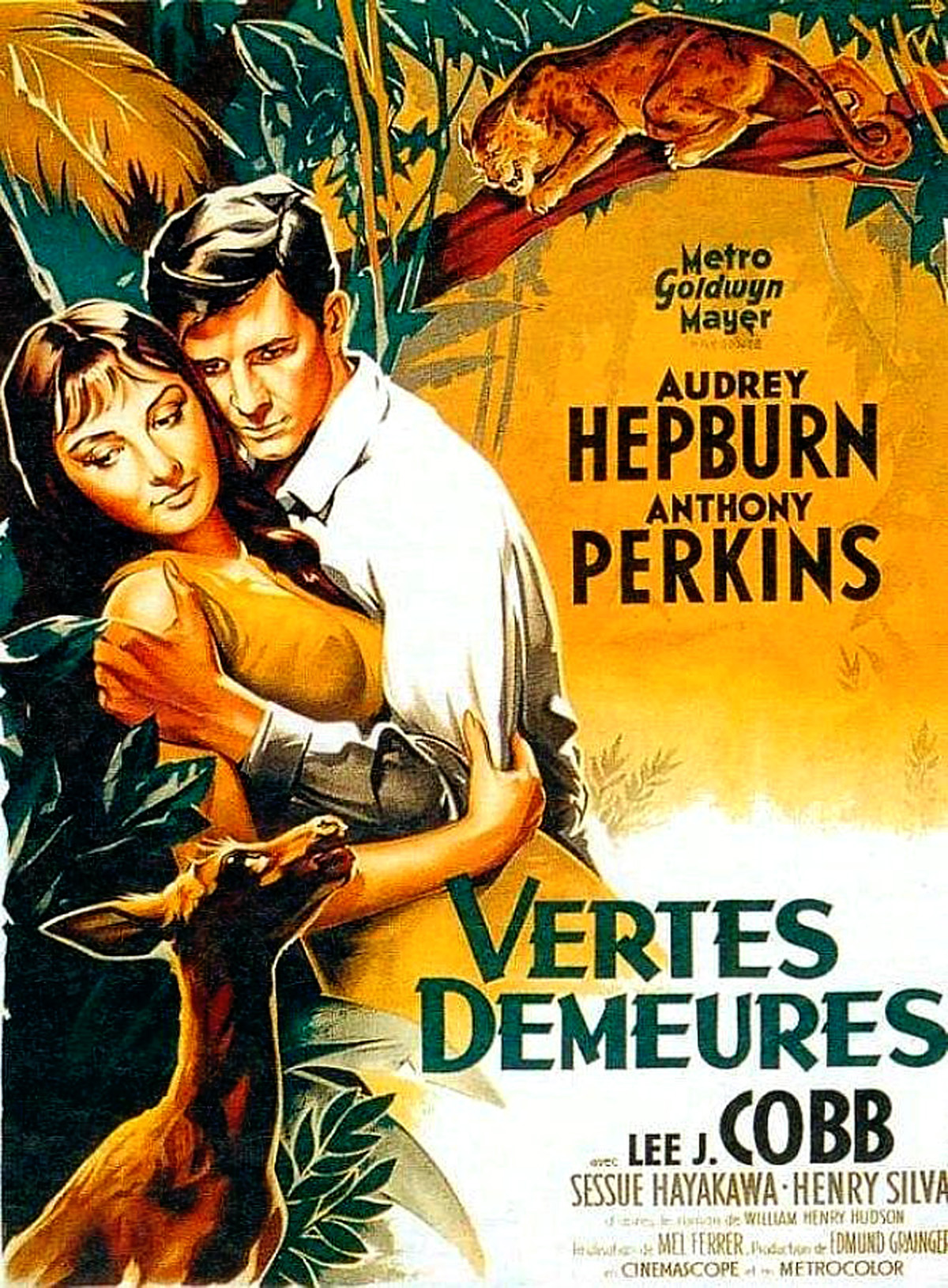 Wallpapers Gallery Falls Audrey Hepburn Green Mansions 1959 Starring Anthony