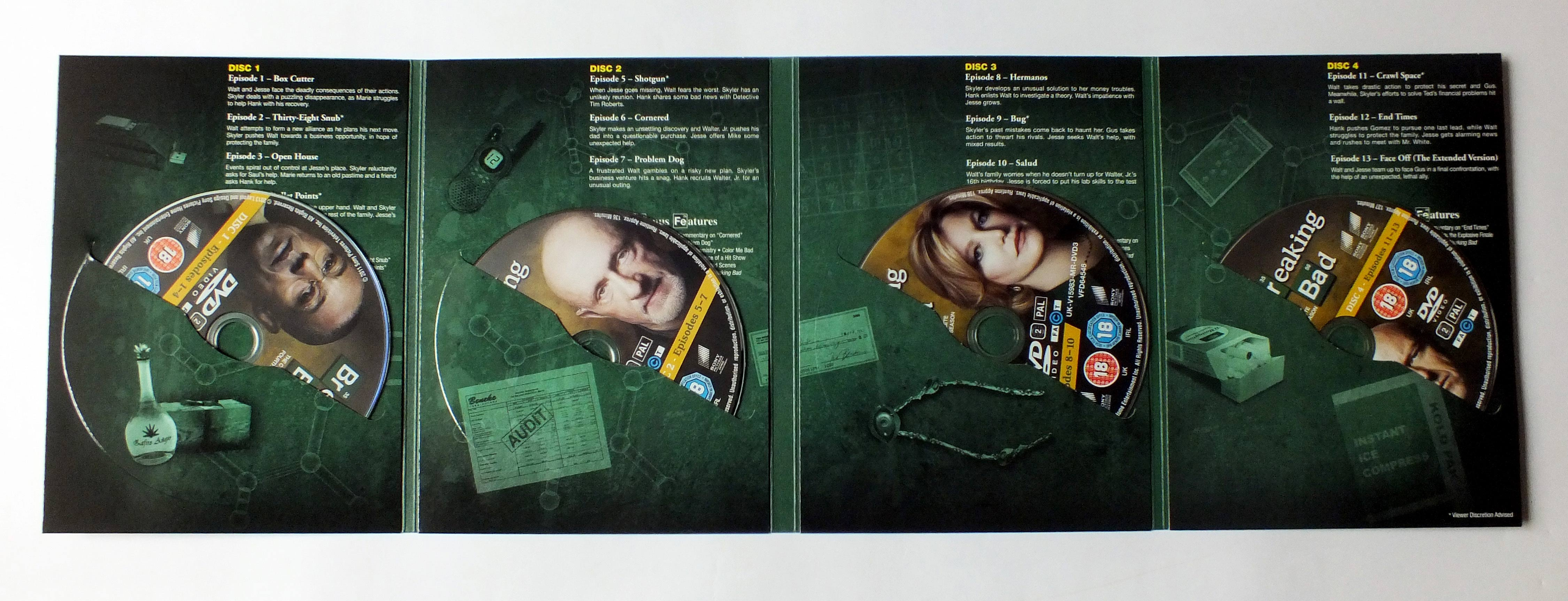 Bad Serie Breaking Bad Complete Series Dvd Box Set B00e3r33h8 Uk Pal
