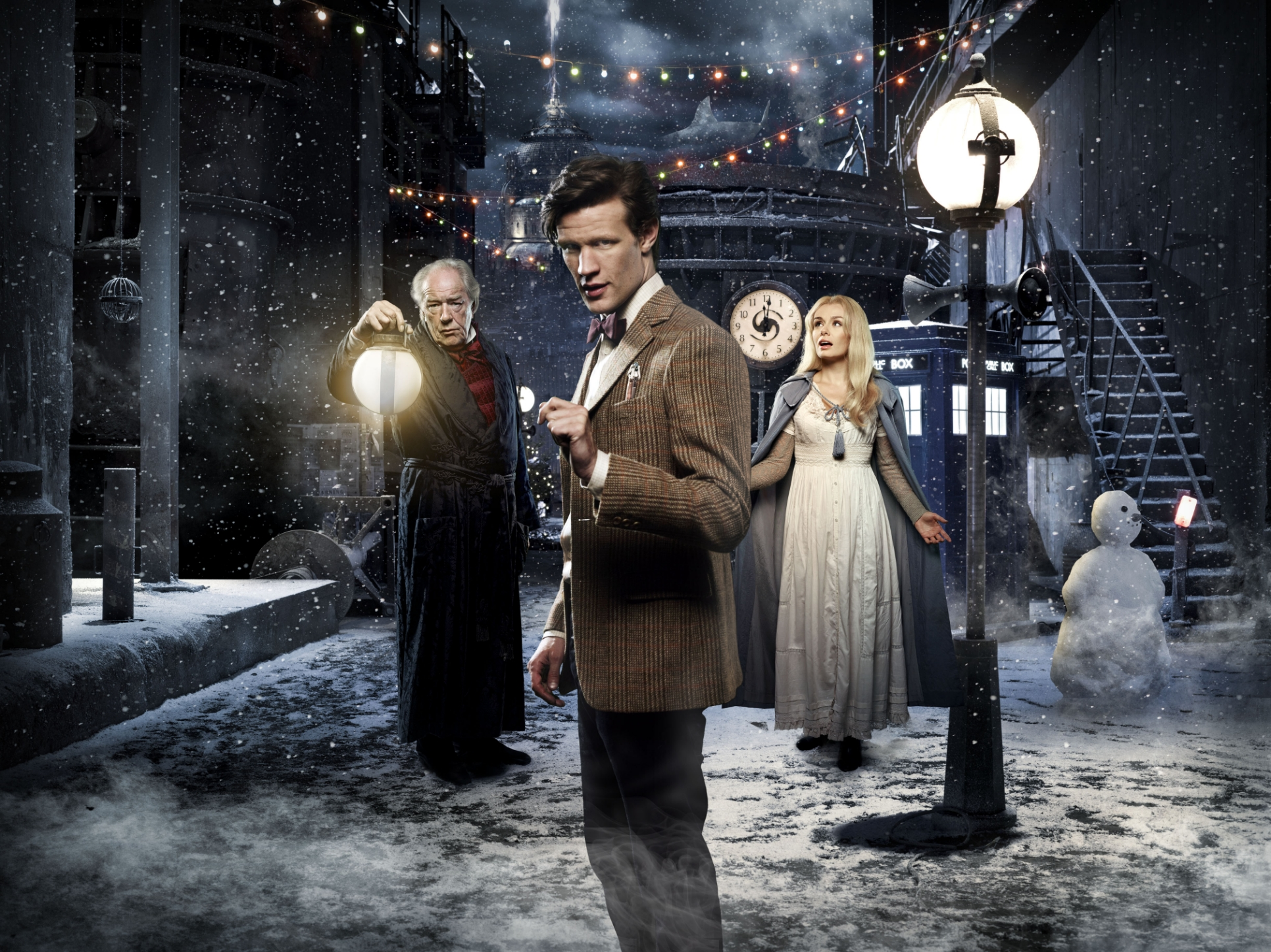 Gaming Wallpaper For Girls Doctor Who Tv Series 5 Story 213 A Christmas Carol Special