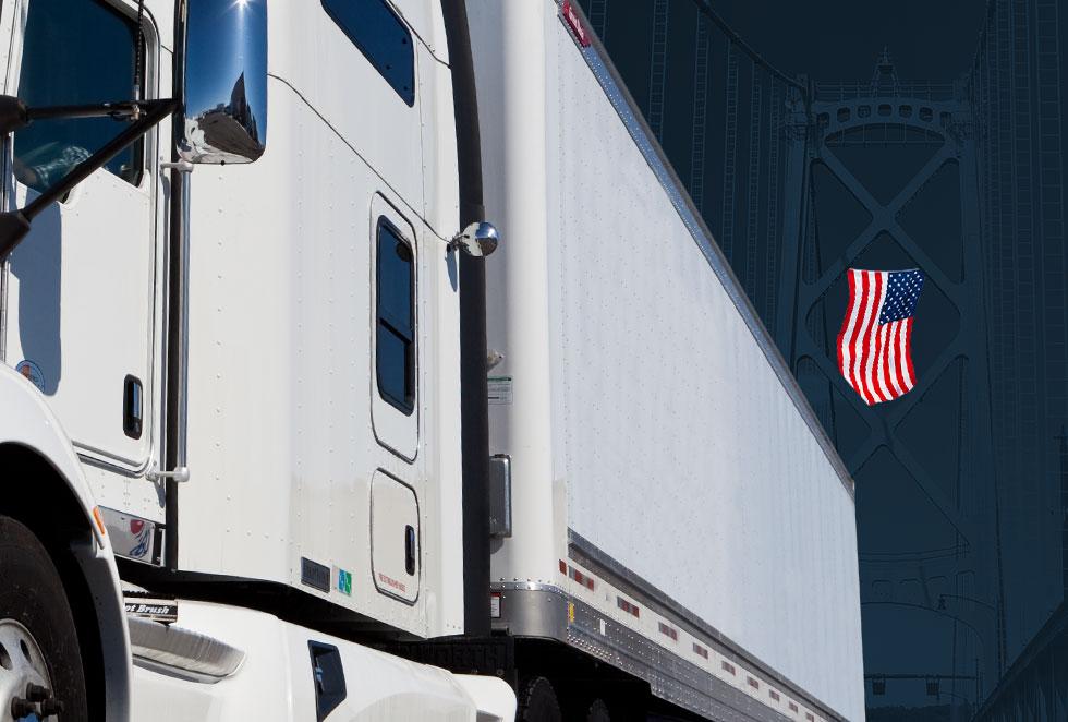 DVL Cross border trucking LTL, truckload, heavy haul shipping