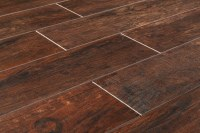 "Cabot Porcelain Tile - Redwood Series Mahogany / 6""x36"""