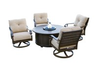 Patio Conversation Sets With Swivel Chairs Style ...