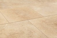 Kesir Travertine Tiles - Honed and Filled Denizli Beige ...
