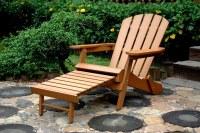Kontiki OUTDOOR/PATIO FURNITURE Faux Wood Adirondack Chair ...