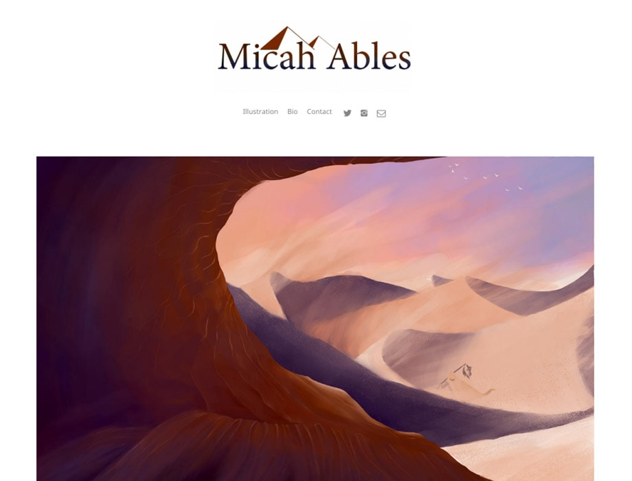Stunning Art Portfolio Websites for Artists