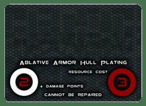 Ablative Armor Hull Plating